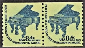 US 1615C MNH VF 8.4 Cent Piano pair