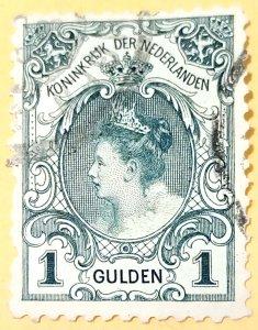 Netherlands 1899-1905,Queen Wilhelminia