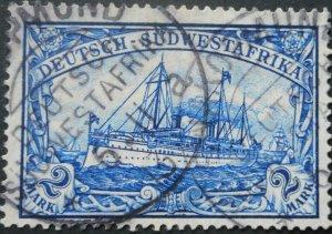 German South West Africa 1906 Two Mark with SWAKOPMUND postmark