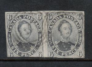 Canada #5d Used Scarce Pair **With Certificate**