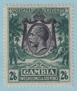 GAMBIA 116  MINT HINGED OG*  NO FAULTS EXTRA FINE