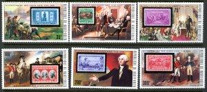 Upper Volta 352-7 USA Bicentennial stamp MNH mint perf      (Inv 001283.)