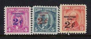 CUBA 641-43 MOG R13-128