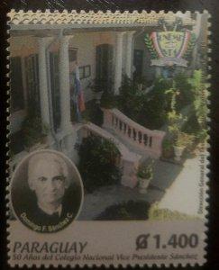 O) 2014 PARAGUAY, VICE PRESIDENT SANCHEZ NATIONAL COLLEGE, DOMINGO F. SANCHEZ