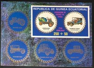 Equatorial Guinea #MiBl229 MNH S/S CV€7.50 Antique Cars