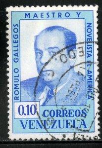 VENEZUELA 858 USED BIN .25 WRITTER