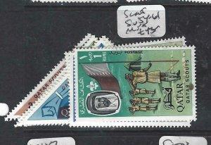 QATAR  (PP2306B)  BOY SCOUTS      SG  54-61      MNH