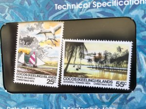 Cocos Keeling Islands Maps stamps