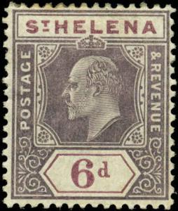 Saint Helena Scott #58 Mint