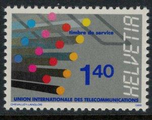 Switzerland #10O14* NH  CV $3.25