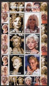 TIMOR SHEET MARILYN MONROE ACTRESSES