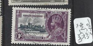 VIRGIN ISLANDS  (PP2903B)     KGV SILVER JUBILEE  SG  106     VFU
