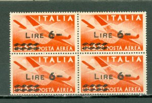 ITALY  1947 AIR #C115...BLK...MNH...$1.00