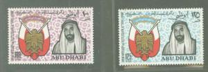 Abu Dhabi 47-48 Mint VF NH