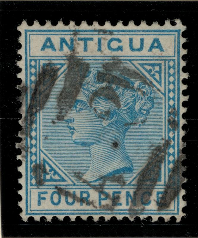 Antigua Stamp Scott #15, Used - Free U.S. Shipping, Free Worldwide Shipping O...
