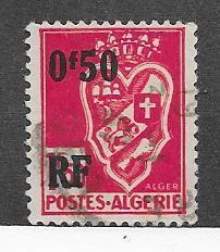 Algeria #190   overprint  (U) CV $0.40