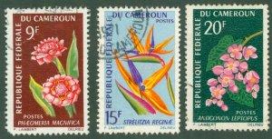 CAMEROUN 441-43 USED BIN$ 1.50
