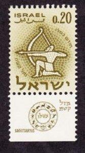 Israel #198 Archer MNH Single with tab