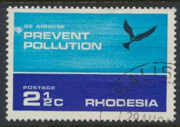 Rhodesia   SG 470  SC# 314  Used Prevent Pollution  Birds see details