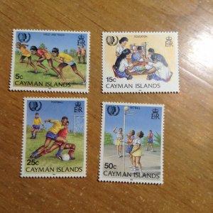 Cayman Islands  # 543-46  MNH