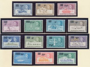 British Antarctic Territory (B.A.T.) Stamps Scott #25 To 38, Mint Never Hinge...
