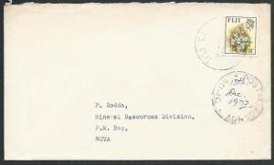 FIJI 1973 cover POSTAL AGENCY / KOMO with mss date.........................65104