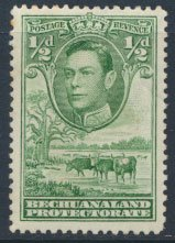 Bechuanaland  SG 118  SC# 124   MH  1938   see scan -