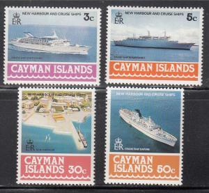 Cayman Islands, Sc 392-395 (2), MNH, 1978, Ships