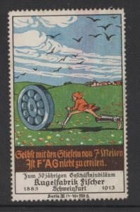 Germany F*AG Brand Ball Bearings 1913 7-Mile Boots Series 3 No. 5