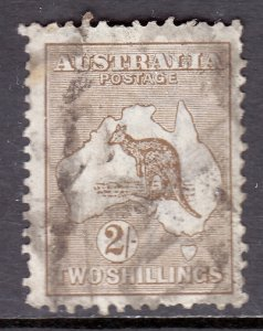 Australia - Scott #52 - Used - Spacefiller with faults - SCV $27.50