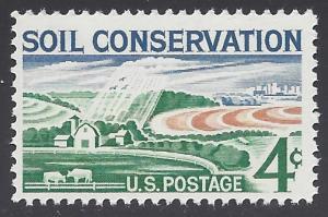 #1133 4c Soil Conservation 1959 Mint NH