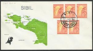 NETHERLANDS NEW GUINEA 1961 cover SIBIL cds................................52886