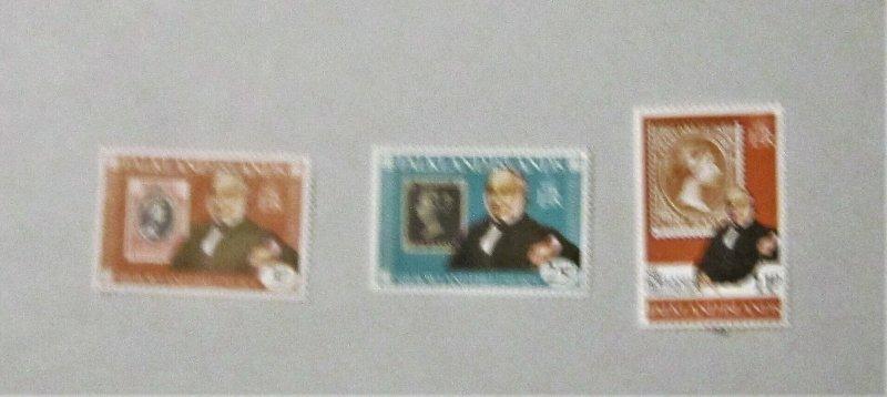 Falkland Islands - 291-93, MNH Set. Rowland Hill. SCV - $1.35