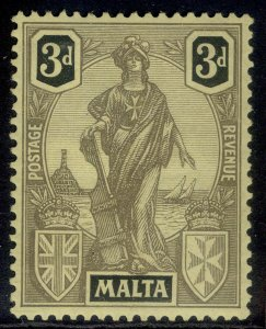 MALTA GV SG131, 3d black/yellow, VLH MINT.