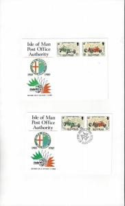 Isle of Man ITALIA 85, Rome Exhibition Card  Mint & Posted