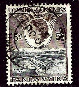 Kenya UT 103 Used 1958 issue    (ap4188)