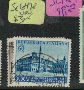 Italy SC 697-8 VFU (3edr)