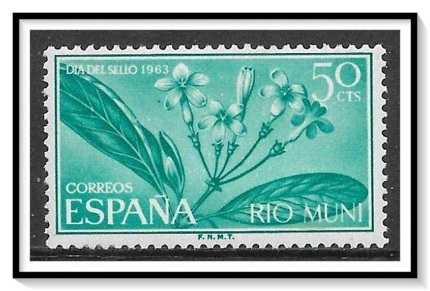 Rio Muni #30 Stamp Day MH