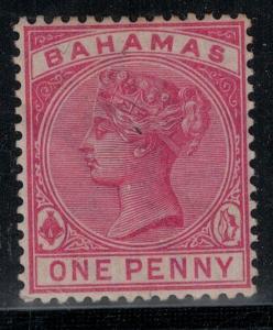 Bahamas 1884-1890 27a Mint SCV $95.00