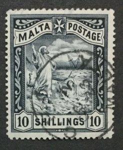 MOMEN: MALTA SG #35 1899-1901 USED LOT #198916-6298