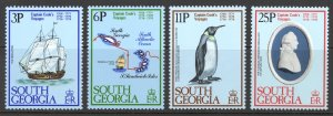 South Georgia Sc# 52-55 MH 1979 Resolution (Ship)