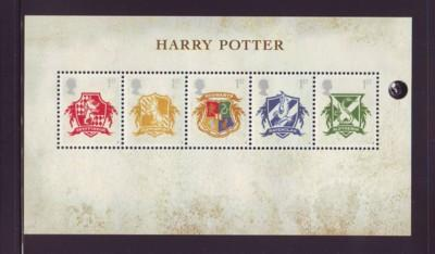 Great Britain Sc 2486 2007 Harry Potter stamp sheet mint NH