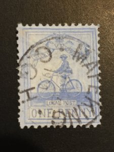 Cogh Cape of Good Hope, Mafeking Good Year South African Stamp.. SG#17  Cat:$500