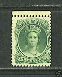 Nova Scotia #11 FVF MNH - 1860 1/2c Queen Victoria