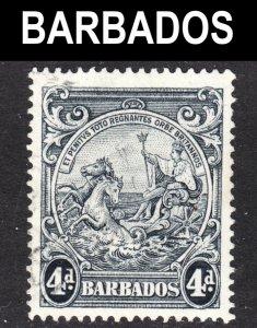 Barbados Scott 198a perf 14 F+ used.