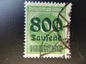 Germany 1923  Sc.#267  CV $1500. used