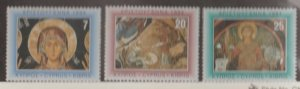 Cyprus Scott #840-841-842 Stamp - Mint NH Set
