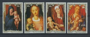 [I2259] Cook Is. 1988 Art good set of stamps very fine MNH