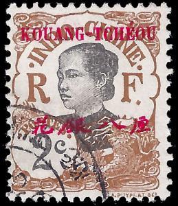 France-Kouang Tcheou 1908 YT 19 uf