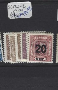ICELAND   (PP1607B)  SC 130-136    MOG